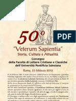50° Veterum Sapientia