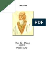 Tao Te Ching Lao Tse