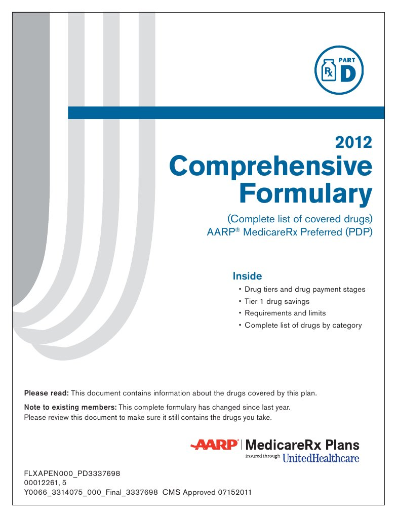 Complete Drug Formulary
