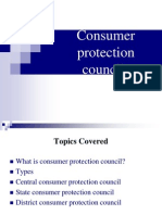 Consumer Protection Councils