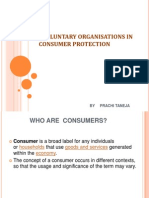 Role of Voluntary Organanisation  in Consumer Protection