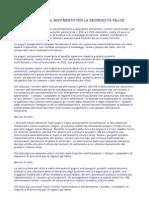 Manifesto Del Movimento Per La Decrescita Felice