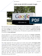 Le parole ambientali più cercate del 2011 secondo Google | Ecologiae