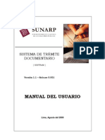 Manual de Tramite Version 1.1 Release 0001 - 1ra Parte