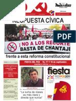 Mundo Obrero, nº 240, septiembre 2011