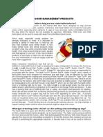 Behavior Management Products