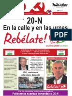 Mundo Obrero, nº 242, noviembre 2011