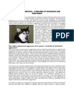 Canine Aggression - Overview and Diagnosis