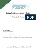 Manual de yWriter5