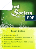 The Rise of Philippine NGOs as Social Movement