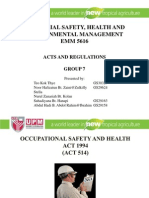 Final Edited Safety Act and Regulation