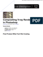 Com Positing v-Ray Render Layers in Photoshop