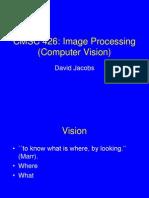 Comp Vision David Jacobs