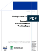 Mining for the Future