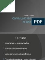 1. Communicating at Work