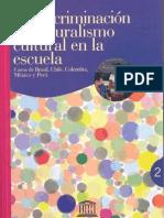 La discriminación y el pluralismo cultural de la escuela