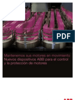Folleto de Dispositivos Control y Proteccion Motores Hasta 18,5kW ABB