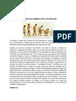 EVOLUCIÓN DEL HOMBRE CON LA TECNOLOGÍA omar roa