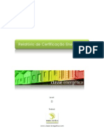 Empresa Meia Sombra - Relatório Certificação Energética