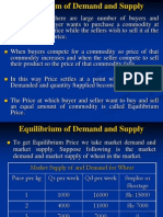 3038250 Ch 8 Equilibrium of Demand and Supply