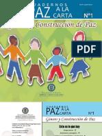 Cuadernos Paz a la Carta - Género y Construcción de Paz