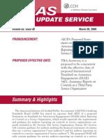 Aicpa New Sas70 Summary
