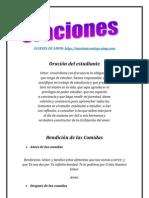 ORACIONES II | ALIANZA DE AMOR