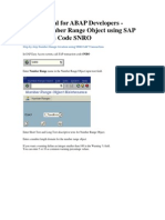 SAP Tutorial for ABAP Developers