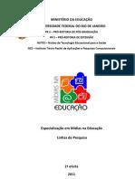 Linhas Midias Na Educacao 2011