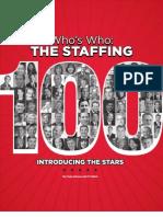 Staffing 100 Oct 2011