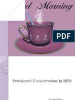 Periodontal Considerations in RPD