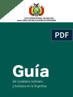 Guía del ciudadano boliviano y boliviana en Argentina