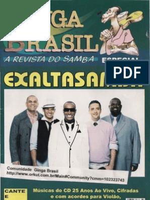 EXALTASAMBA VIVO AO DVD TODOS OS SAMBAS 2006 BAIXAR