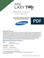 GEN GT-P7510 Galaxy Tab 10-1 English User Manual