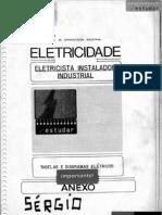 Apost. SENAI - Inst. Industrial - Diagramas Comandos Elétricos - 1982