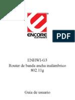 Enhwi-g3 Manual Spa