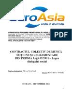 Referat Contractul Colectiv de Munca