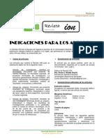 Formato de Revista ION