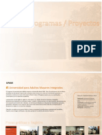 Memorias de FACSO- UNICEN. programas