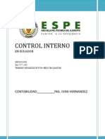 Control Interno ad