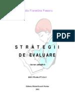 Strategii de Evaluare - 2011 - Lidia Florentina Pescaru