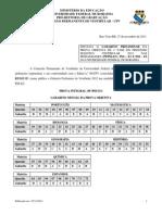 Edital N 111-11 Gabarito Preliminar Vest. 2012 PI-E3 PSS-E1 PSS-E2