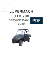 Supermach UTV700 Service Manual Whole