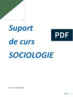 cursuri sociologie