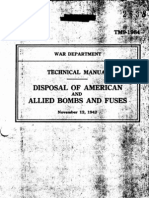 TM-9-1984 Disposal of American and Allied Bomb and Fuze USA-1942