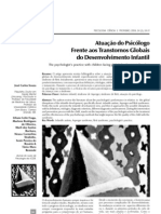 ATUAÇÃO DO PSICOLOGO FRENTE AOS TRANSTORNOS GLOBAIS DO DESENVOLVIMENTO