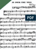 Concerto Pour Une Voix - Saint-Preux 6--CP Piano