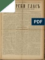Debarski Glas 3 May 1909