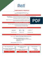 Acasti Corporate Profile October 2011