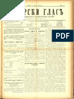Debarski Glas 7 Nov 1909